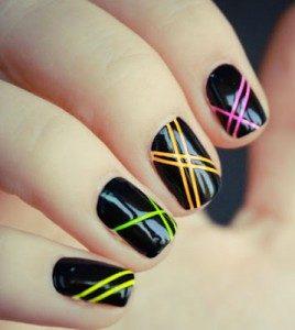 como pintar las uñas cortas