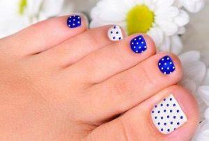 como pintar las uñas de los pies paso a paso