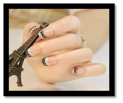 como pintar uñas con diseños faciles paso a paso