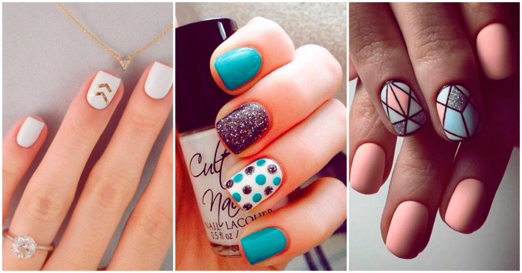 Ejemplos De Como Pintar Las Uñas Con Diseños Fotos