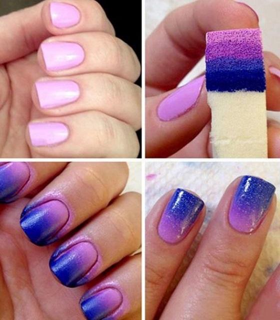 Esta Es La Técnica De Como Pintar Las Uñas Con Esponja
