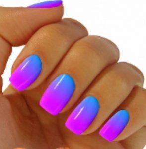 como pintar las uñas con esponja