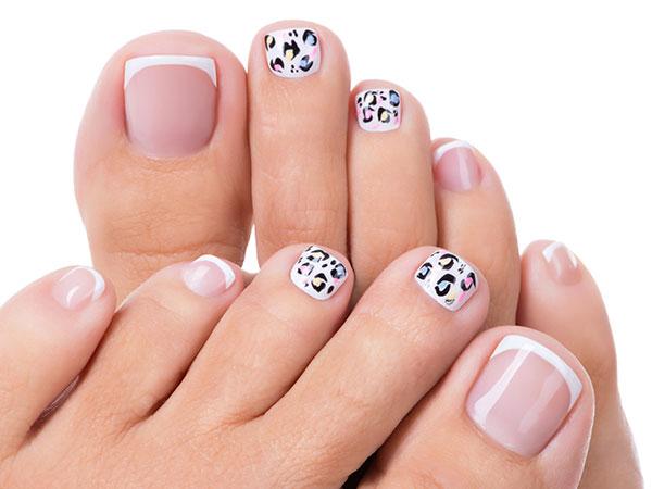 como pintar uñas de los pies paso a paso
