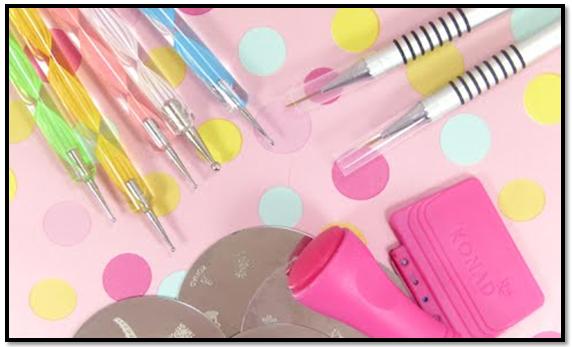 herramientas para decorar uñas